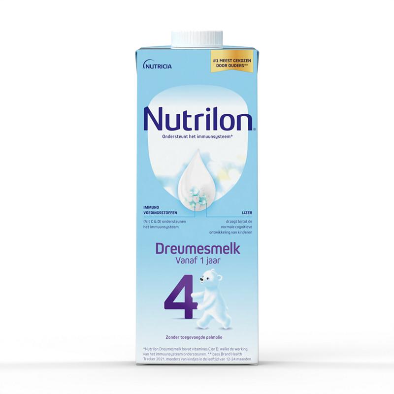 Nutrilon Dreumesmelk 4 Kant & Klaar