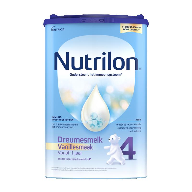 Nutrilon Dreumesmelk 4 Vanillesmaak