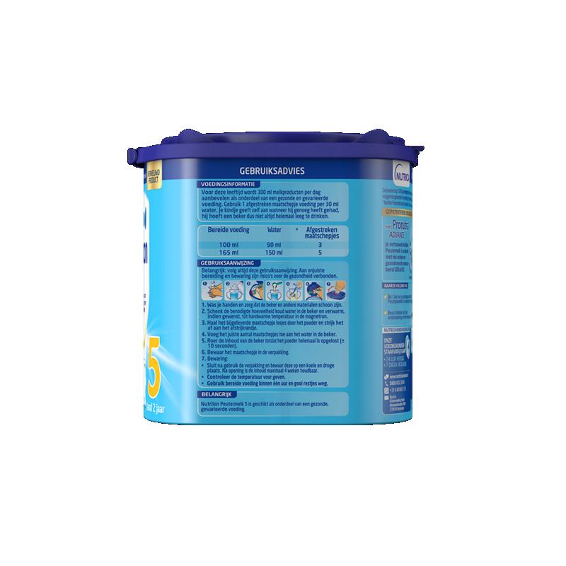 Nutrilon Peutermelk 5 Vanille