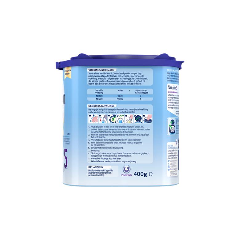 Nutrilon Peutermelk 5 Vanillesmaak