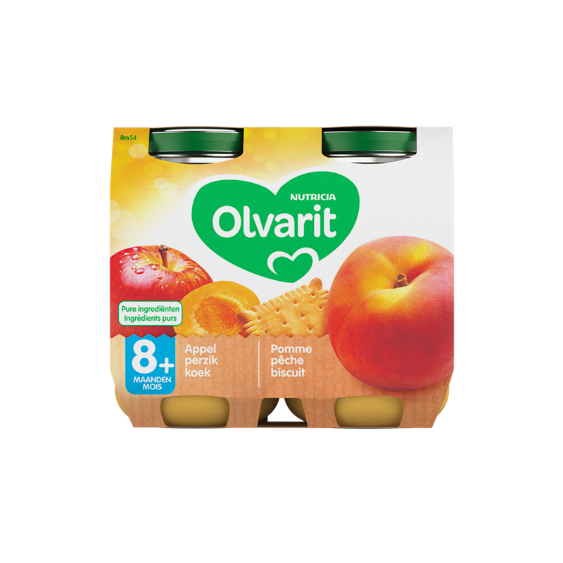 Olvarit Appel perzik koek