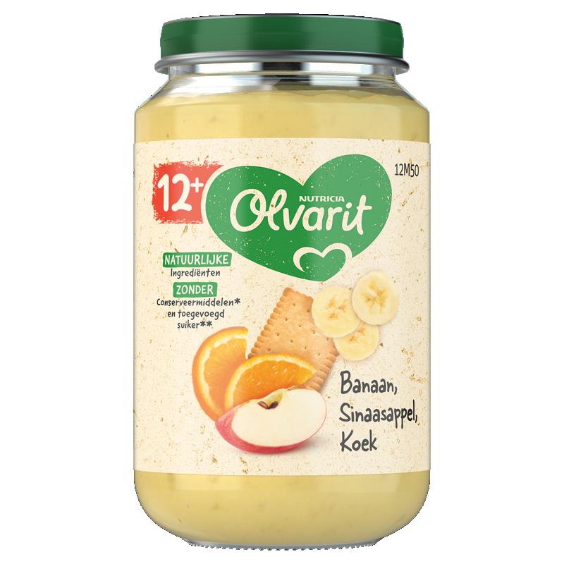 Olvarit Banaan Sinaasappel Koek