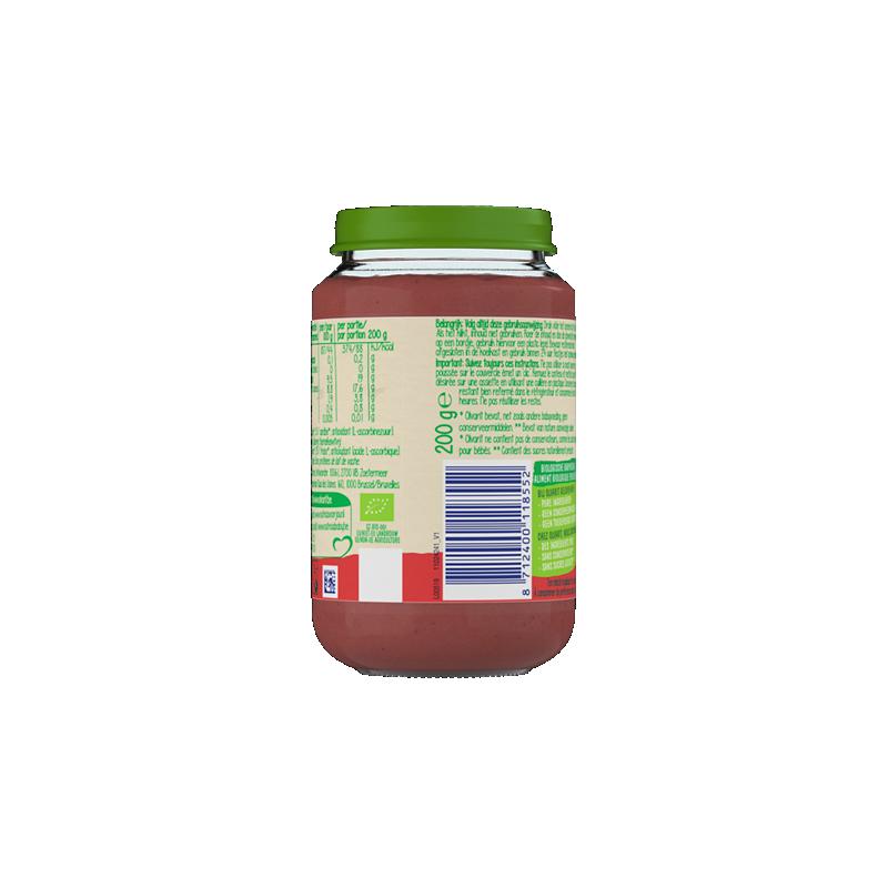 Olvarit Bio Appel + aardbei