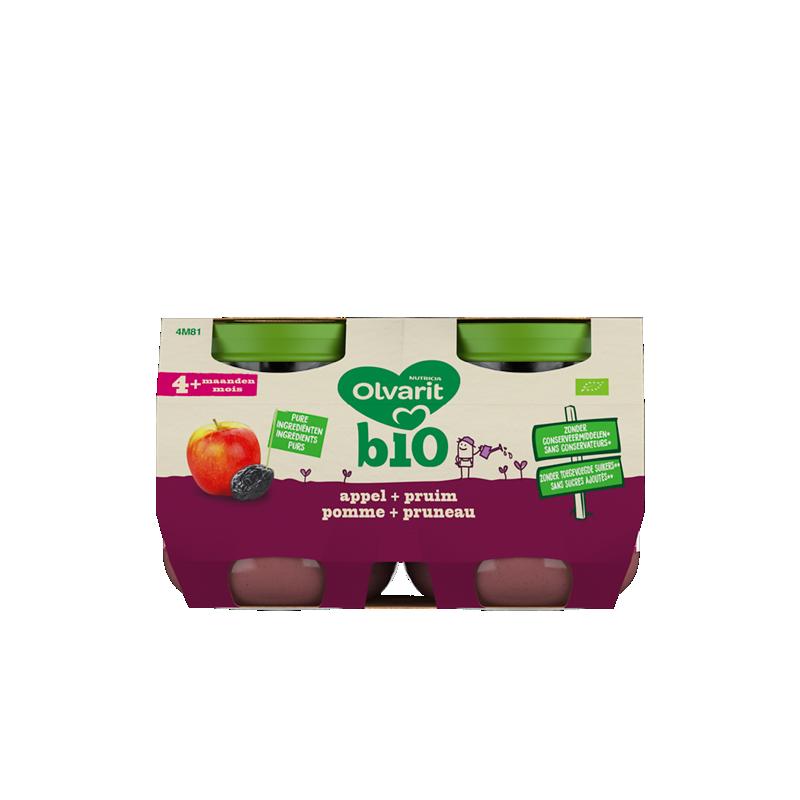 Olvarit Bio Appel + pruim