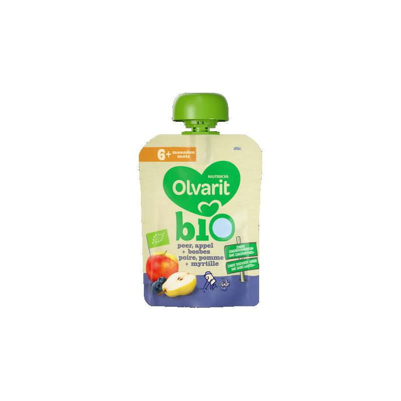 Olvarit Bio peer, appel + bosbes