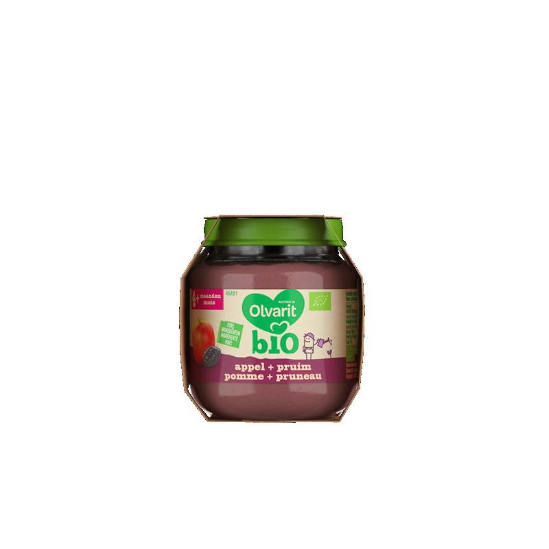 Olvarit Bio pomme + pruneau