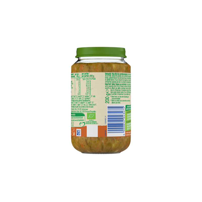 Olvarit Bio Wortel Rundvlees Aardappel