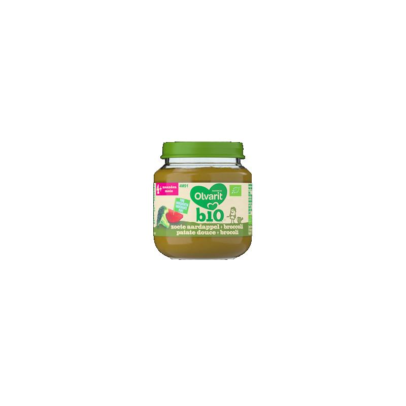 Olvarit Bio Zoete aardappel Broccoli
