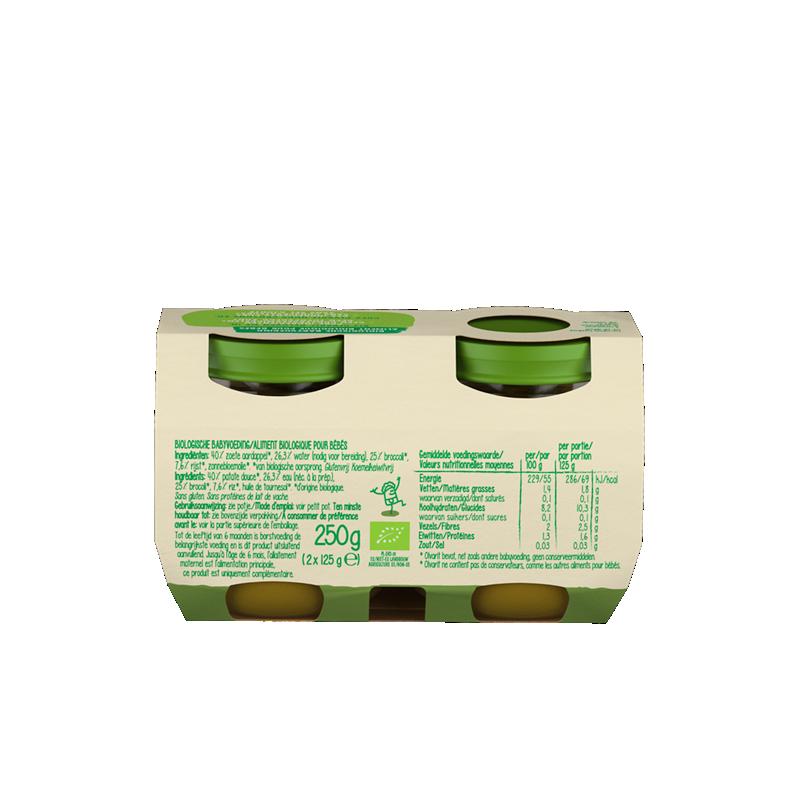 Olvarit Bio Zoete aardappel, broccoli