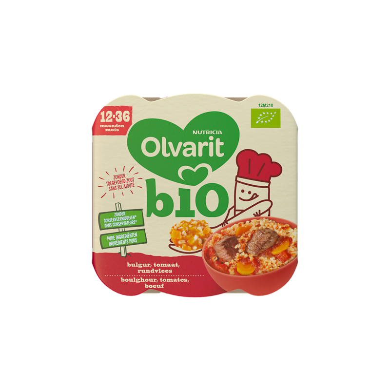 Olvarit Boulghour Tomates Boeuf