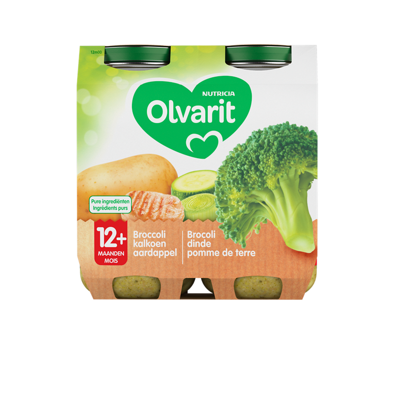 Olvarit Broccoli kalkoen aardappel