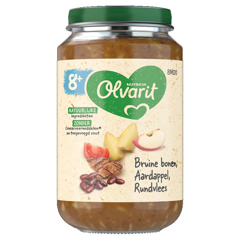 Olvarit Bruine bonen Aardappel Rundvlees