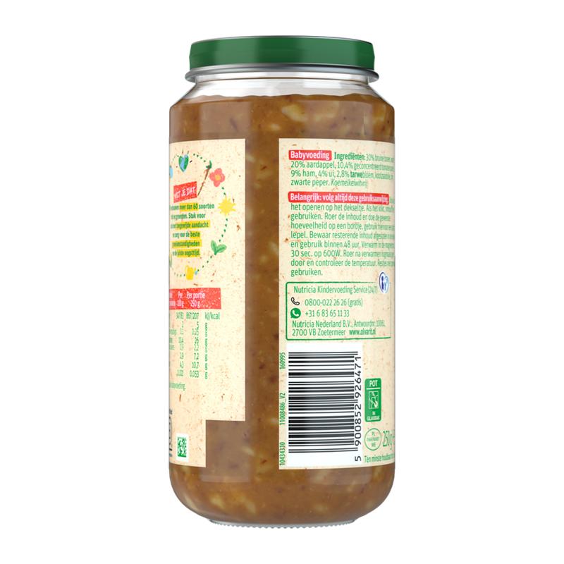 Olvarit Bruine bonen Ham Aardappel