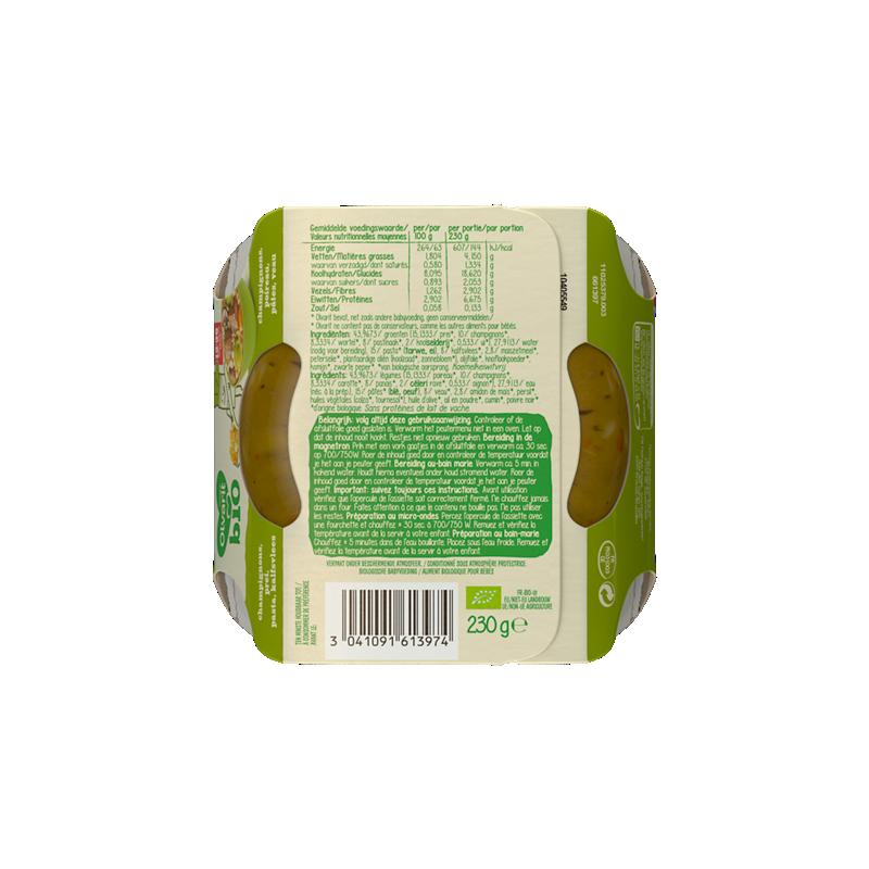 Olvarit Champignons Poireau Pâtes Veau