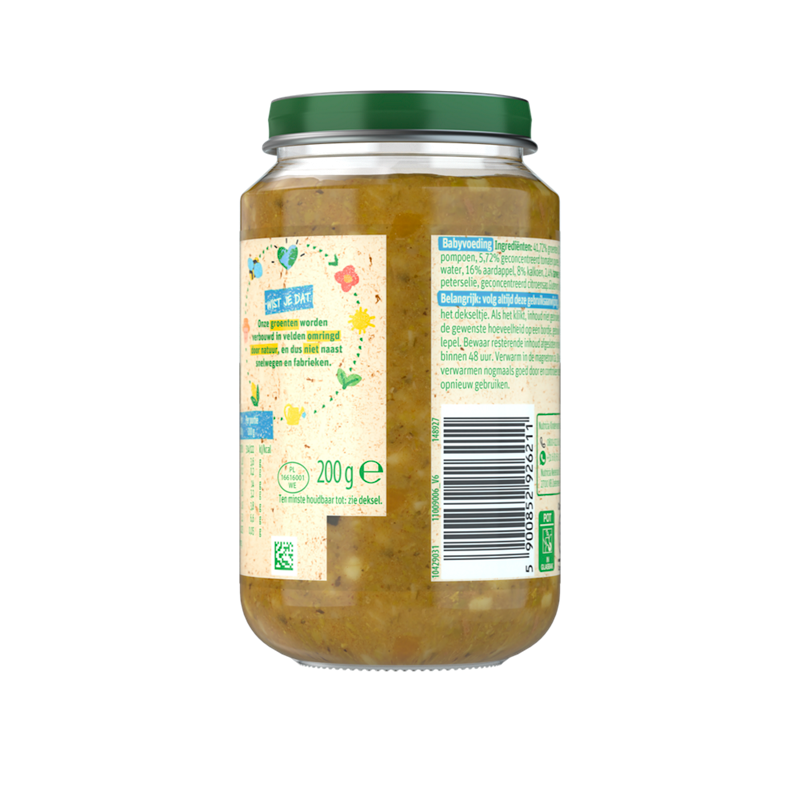 Olvarit Doperwten Kalkoen Aardappel