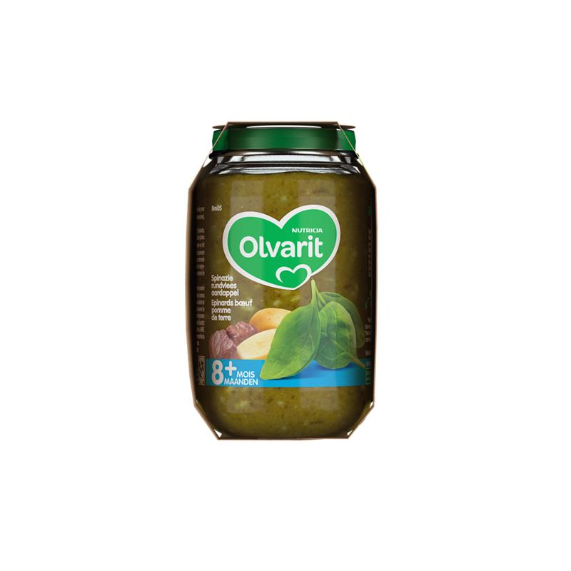Olvarit Epinards bœuf pomme de terre