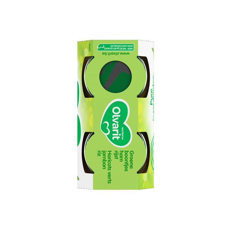 Olvarit Groene boontjes Ham Rijst