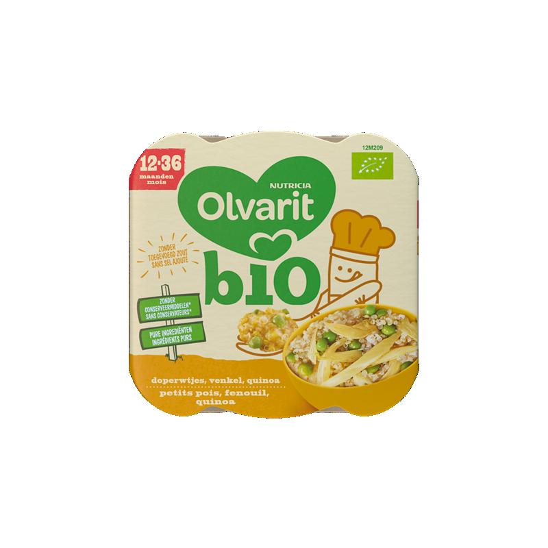 Olvarit Petits Pois Fenouil Quinoa