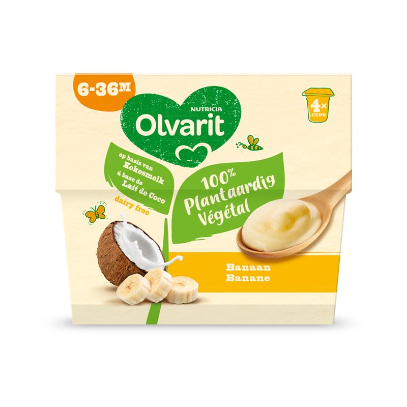Olvarit Plantaardig dessert Banaan