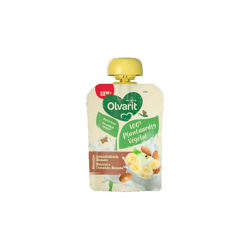 Olvarit Plantaardige Amandeldrink Banaan Smoothie