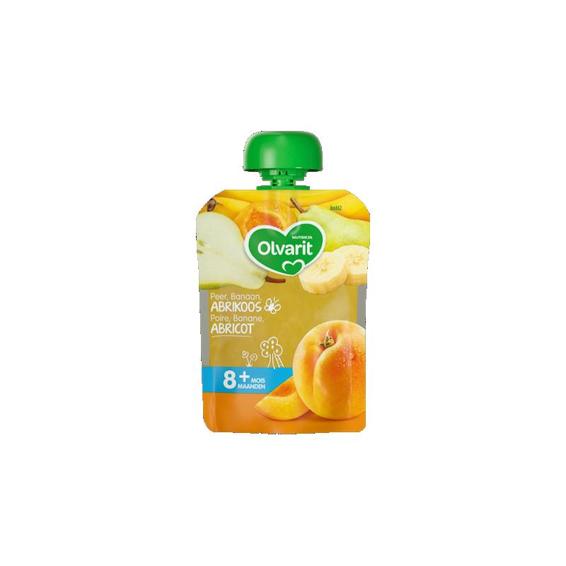 Olvarit Poire Banane Abricot