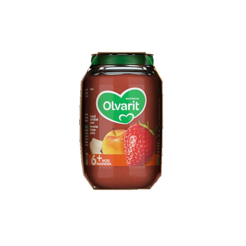 Olvarit Pomme fraise poire