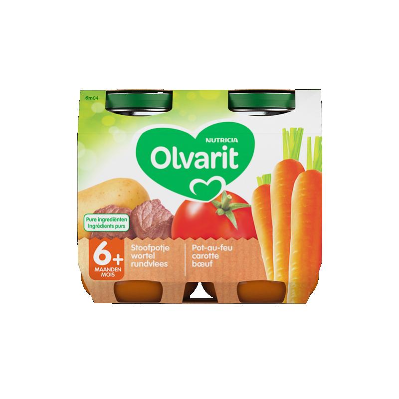 Olvarit Pot-au-feu carotte bœuf