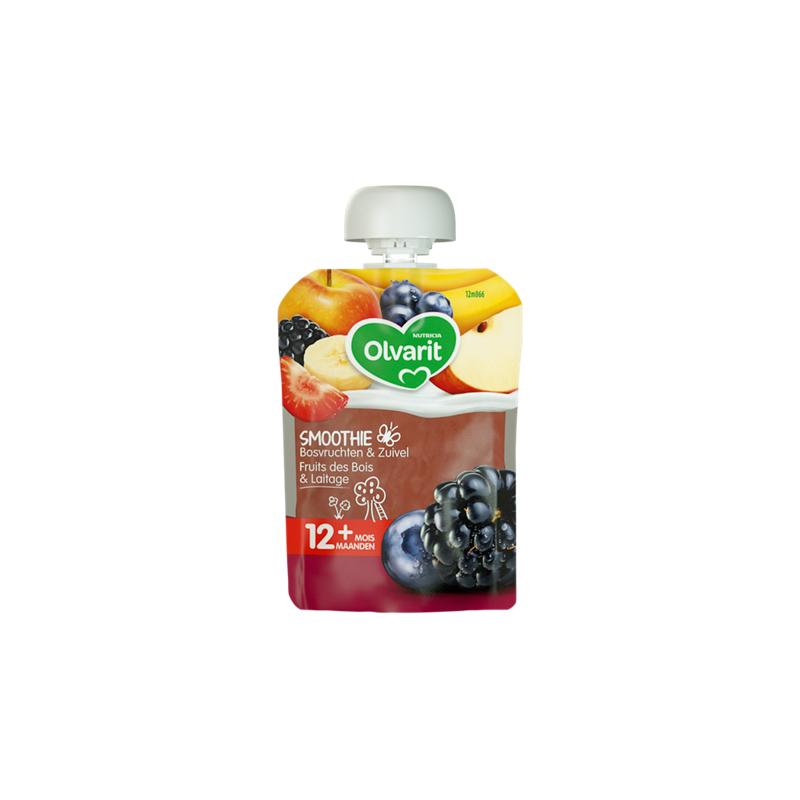 Olvarit Smoothie Fruits de Bois & Laitage