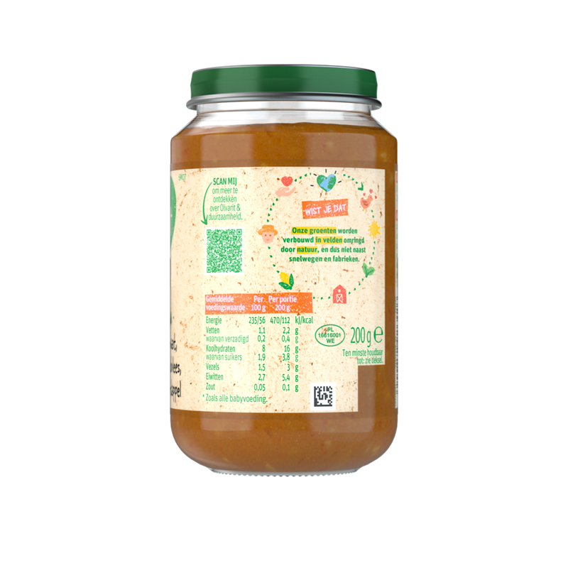 Olvarit Tomaat Rundvlees Aardappel Wortel