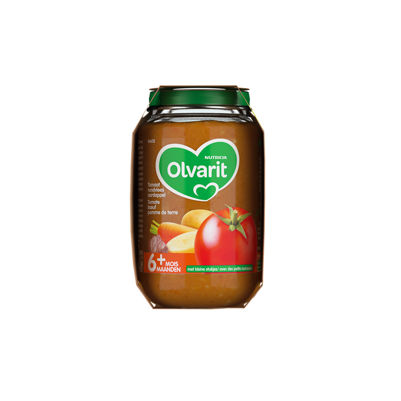 Olvarit Tomate, bœuf, pomme de terre