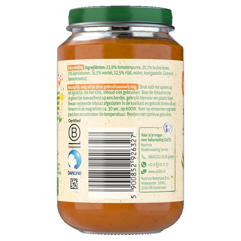 Olvarit Vegetarische Bruine Bonenschotel