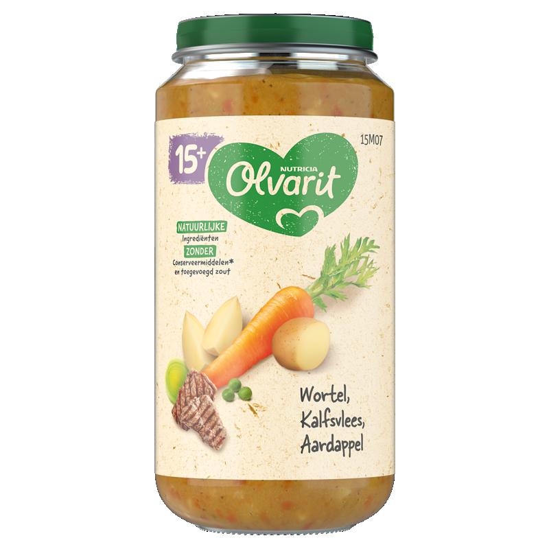 Olvarit Wortel Kalfsvlees Aardappel