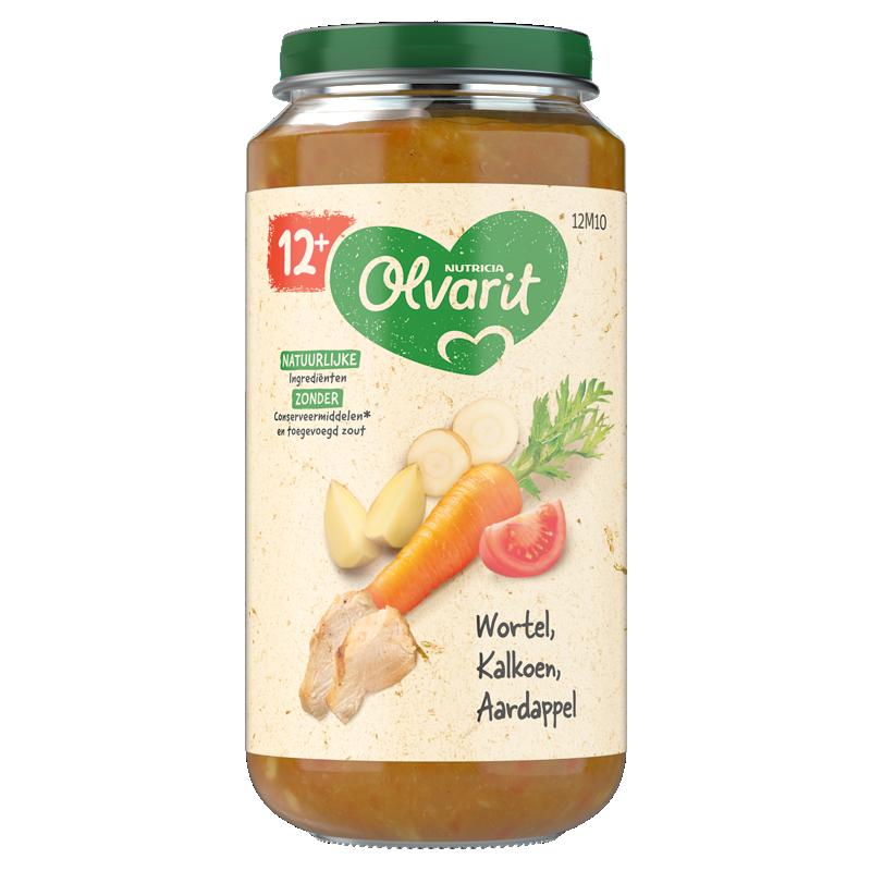 Olvarit Wortel Kalkoen Aardappel