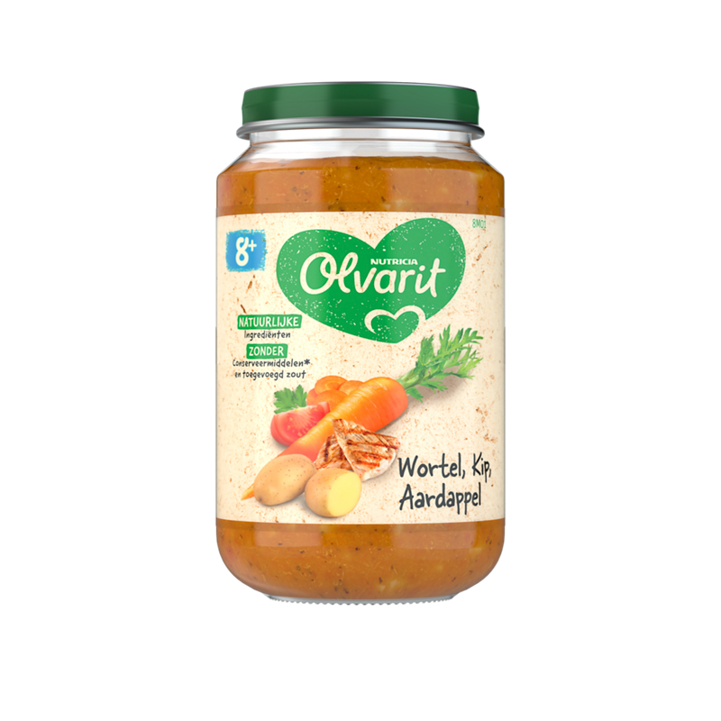 Olvarit Wortel Kip Aardappel